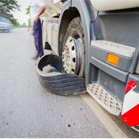 Columbia Truck Accident Lawyers discuss Summer Truck Tire Blowouts