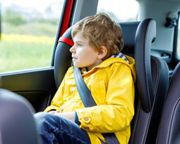Columbia car accident lawyers discuss back seat passenger injuries