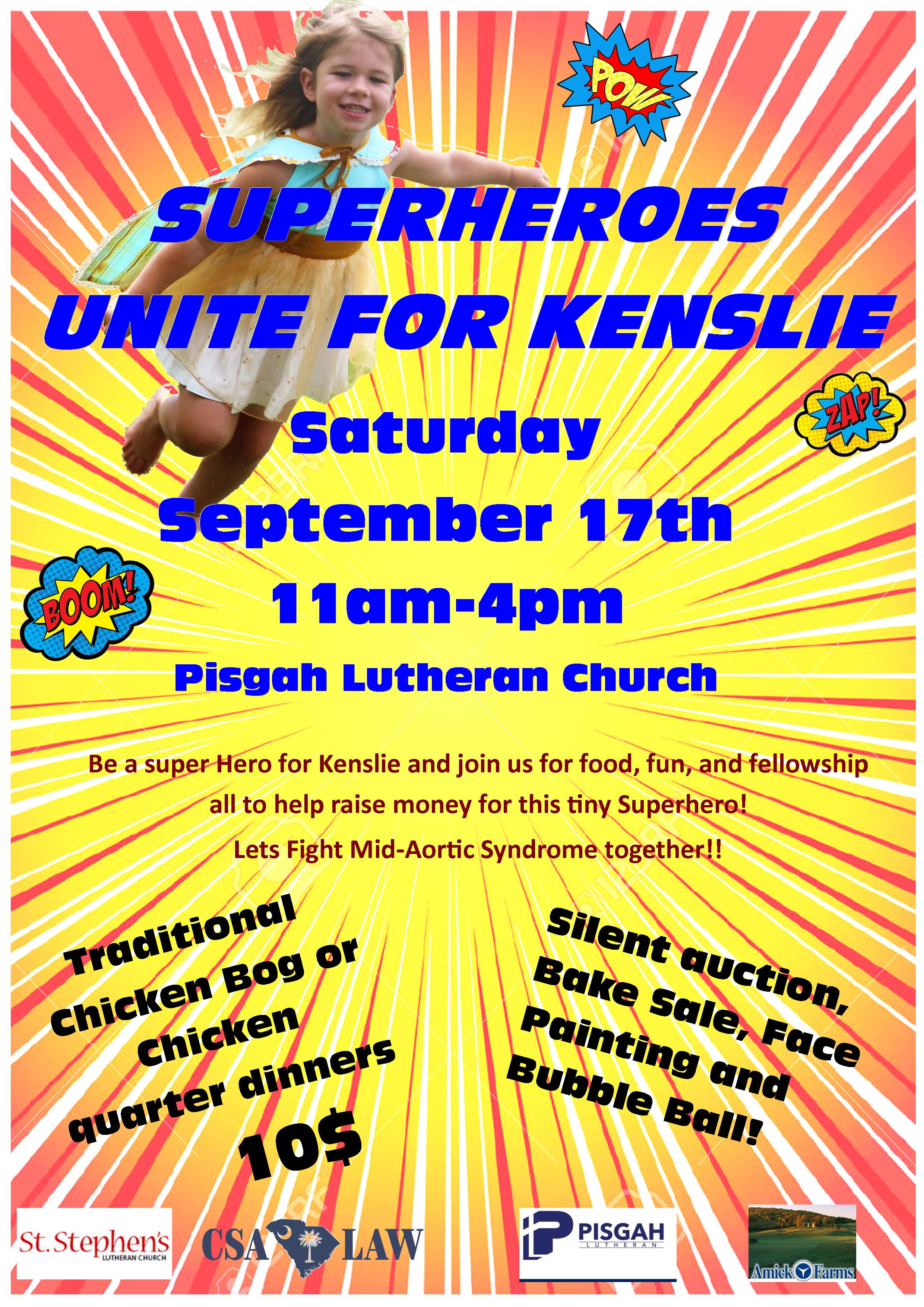 Columbia Personal Injury Law Firm Support Superheroes Unite for Kenslie