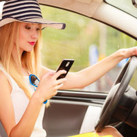 Columbia, SC Car Accident Lawyers discuss how distracted driving leads to car accidents.