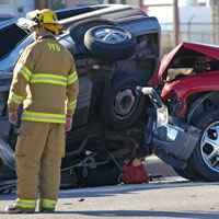 Columbia Car Accident Lawyers offer safety advice for victims of car accidents that lead to vehicle entrapment.