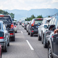 Columbia Car Accident Lawyers discuss traffic jam accidents.