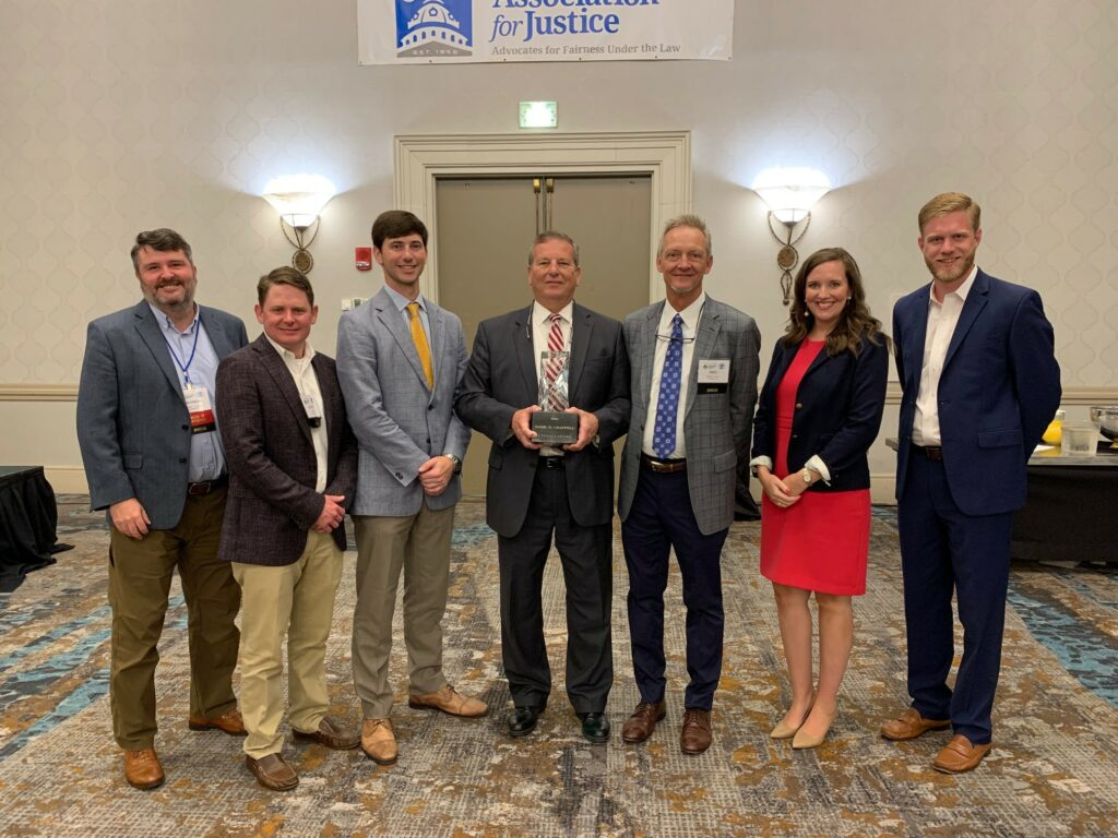 Mark Chappell Receives 2021 Founder's Award from the South Carolina Association of Justice - Chappell Smith & Arden